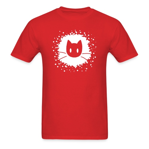 Abstract Cat Logo - Men's T-Shirt