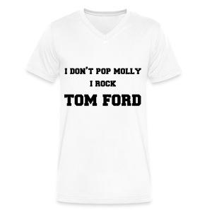 Tom Ford  - Men's V-Neck T-Shirt by Canvas
