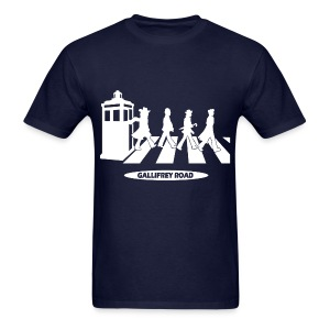 Dr Who - Gallifrey Road - Men's T-Shirt