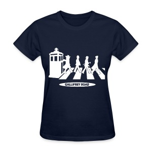 Dr Who - Gallifrey Road - Women's T-Shirt