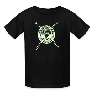 Kids KnitterBug Glow in Dark - Kids' T-Shirt