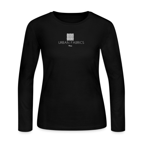 Urban Fabrics (WHT) - Women's Long Sleeve Jersey T-Shirt