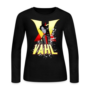 Vahl V - Cel Shaded - W Long Sleeve T - Women's Long Sleeve Jersey T-Shirt
