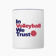 In Volleyball we trust Bottles & Mugs