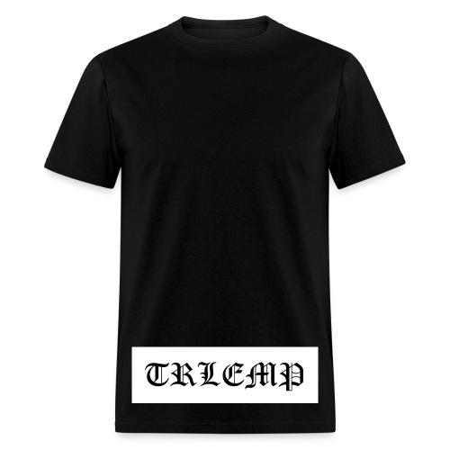 trlemp bottom print - Men's T-Shirt