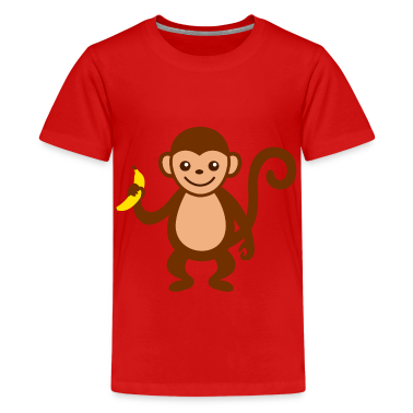 Monkey With T Shirt Spreadshirt