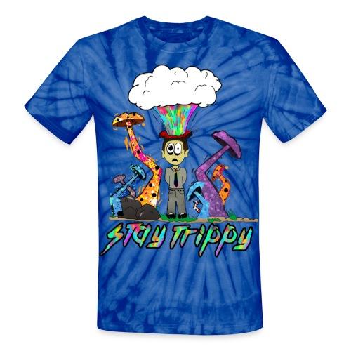 Stay Trippy - Unisex Tie Dye T-Shirt