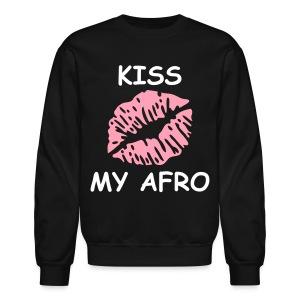 Kiss my Afro - Crewneck Sweatshirt