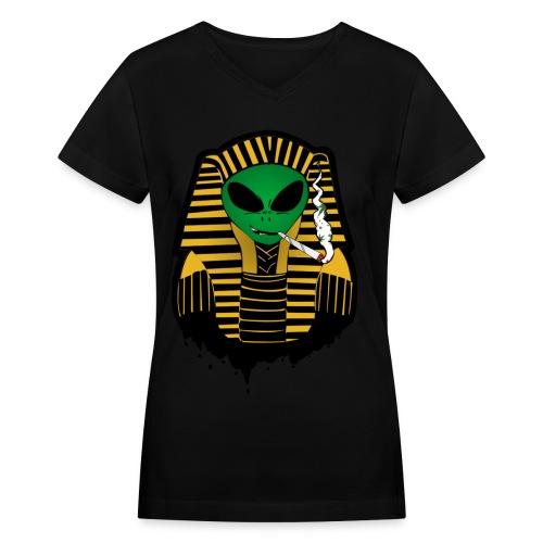 The Pharaoh  - Women's V-Neck T-Shirt