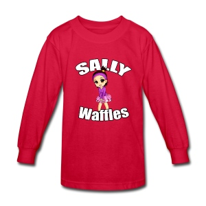 Sally Waffles - K Long Sleeve T - Kids' Long Sleeve T-Shirt