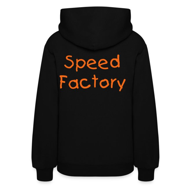 "Women's Hooded Lightweight Sweatshirt ""Speed Kills"" 