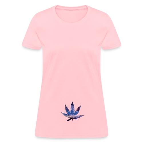 Weed Galaxy  - Women's T-Shirt