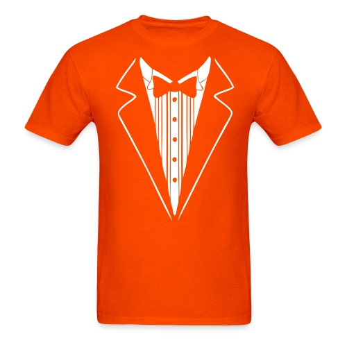 Dumb & Dumber Orange Tuxedo T-Shirt - Men's T-Shirt