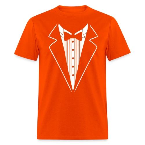 Dumb & Dumber Orange Tuxedo T-Shirt - Men's T-Shirt