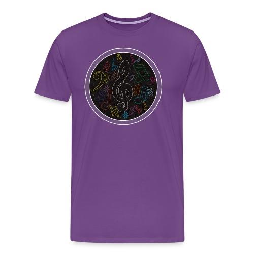 GalaxyMusicX tee - Men's Premium T-Shirt