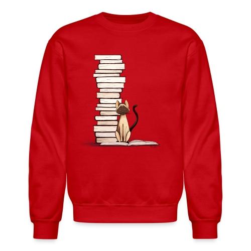 The Reader II Sweater - Crewneck Sweatshirt