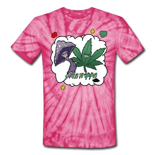 Stay Trippy UNISEX - Unisex Tie Dye T-Shirt