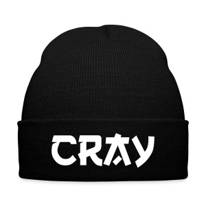 CRAY  BEANIE - Knit Cap with Cuff Print