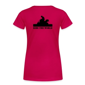 Women's Premium Tee Ride The World - Women's Premium T-Shirt