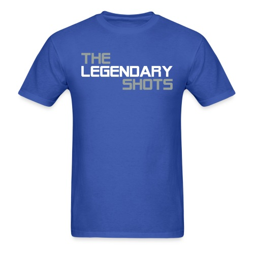 TLS (Grey & White) - Men's T-Shirt