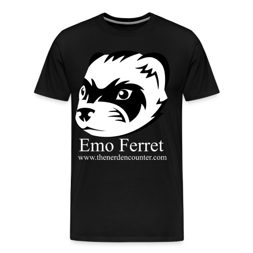 Emo Ferret Official Shirt - Men's Premium T-Shirt