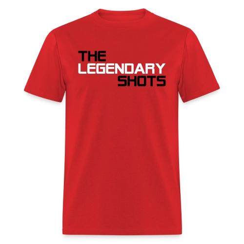 TLS (Black & White) - Men's T-Shirt