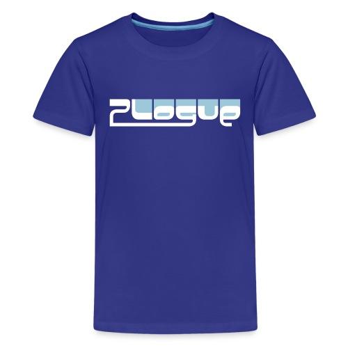 Plogue Logo Tee - Kids (Blue) - Kids' Premium T-Shirt