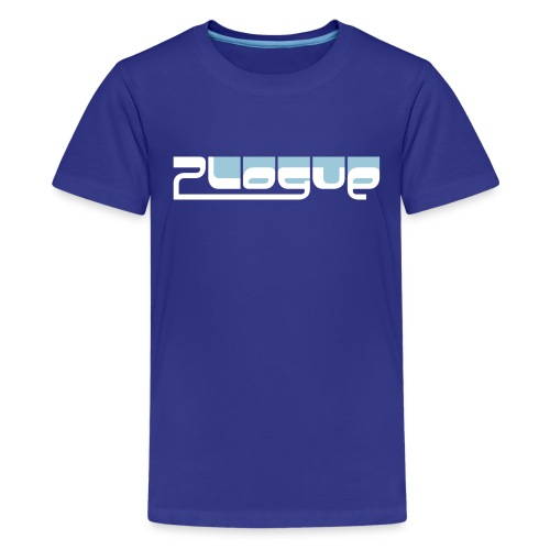 Plogue Logo Tee - Kids (Blue) - Kids' Premium T-Shirt