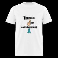 T-Shirts ~ Men's T-Shirt ~ Thumbs Up for Tourette's Awareness! Men's T-Shirt
