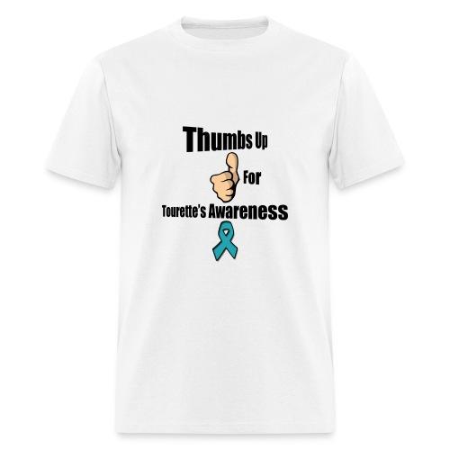 Thumbs Up for Tourette's Awareness! Men's T-Shirt - Men's T-Shirt