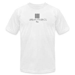 Urban Fabrics (BK) - Men's T-Shirt by American Apparel