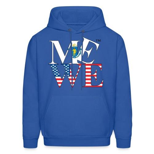 Me We Massachusetts Hoody - Men's Hoodie