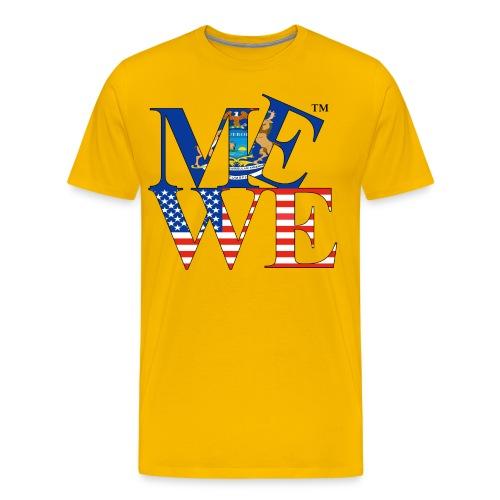 Me We Michigan Tee  - Men's Premium T-Shirt