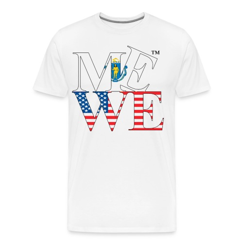 Me We Massachusetts Tee  - Men's Premium T-Shirt