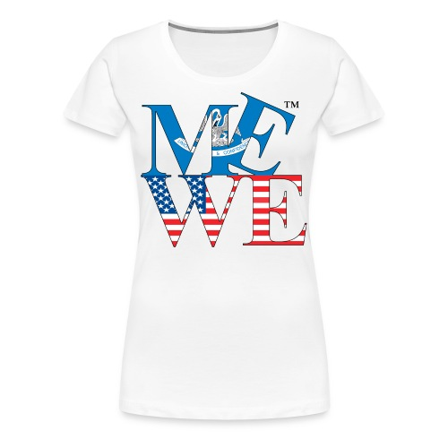 Me We Louisiana Tee (women's) - Women's Premium T-Shirt