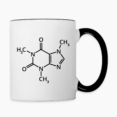 Coffee chemical formula chemistry espresso drink Bottles & Mugs