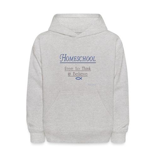 Homeschool Freedom - Kids' Hoodie