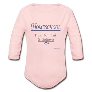 Homeschool Freedom - Long Sleeve Baby Bodysuit