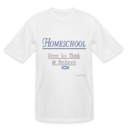 Homeschool Freedom - Men's Tall T-Shirt