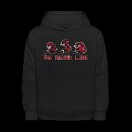 Sweatshirts ~ Kids' Hoodie ~ Classic Grind Line Throwback