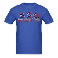 T-Shirts ~ Men's T-Shirt ~ Classic Grind Line Throwback