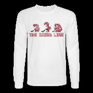 Long Sleeve Shirts ~ Men's Long Sleeve T-Shirt ~ Classic Grind Line Throwback