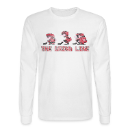 Long Sleeve Shirts ~ Men's Long Sleeve T-Shirt ~ Classic Grind Line Throwback