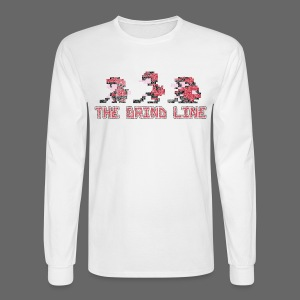 Classic Grind Line Throwback - Men's Long Sleeve T-Shirt