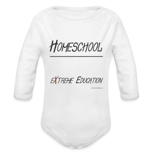 Extreme Education - Organic Long Sleeve Baby Bodysuit