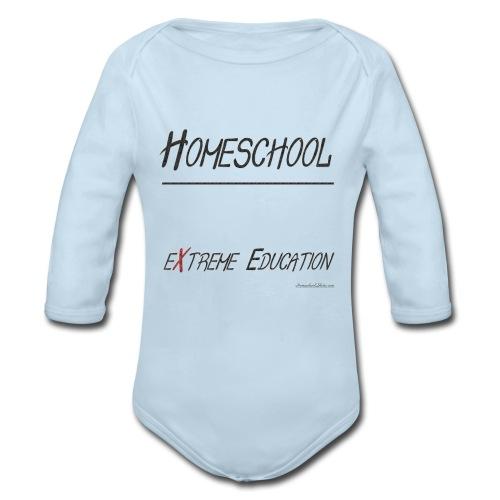 Extreme Education - Organic Long Sleeve Baby Bodysuit