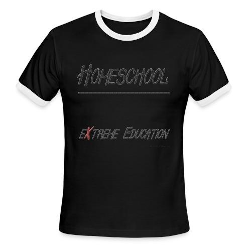 Extreme Education - Men's Ringer T-Shirt