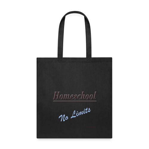 No Limits Homeschool - Tote Bag
