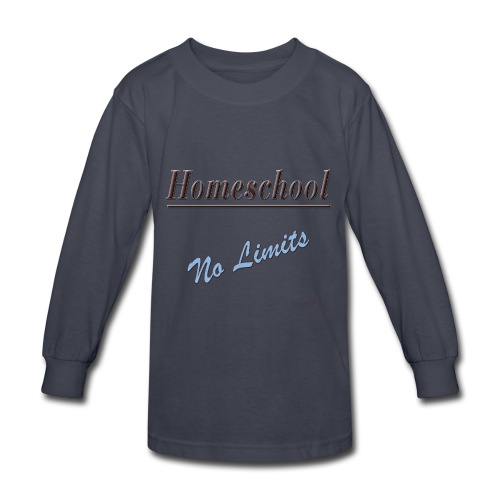 No Limits Homeschool - Kids' Long Sleeve T-Shirt
