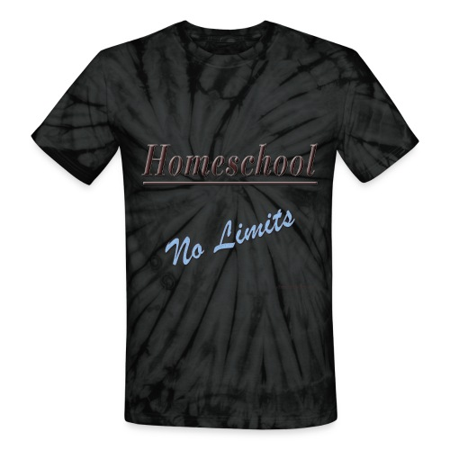 No Limits Homeschool - Unisex Tie Dye T-Shirt